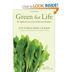 Green For Life Book by Victoria Boutenko