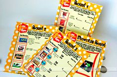 The Price is Right with these FREE printables!  This would be a fun little party to throw.  And they did all the work already too.  Nice!