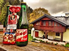 Salzburger beer and Mozart chocolates - definitely the best souvenirs from Austria