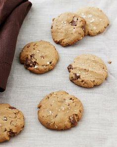 Salted Peanut Butter Chocolate Chunk Cookies