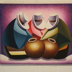 Pop Art, Modern Art, Contemporary Art, Peruvian Art, Newspaper Art, Art Textile, Southwest Art, Mexican Art, Pictures To Paint