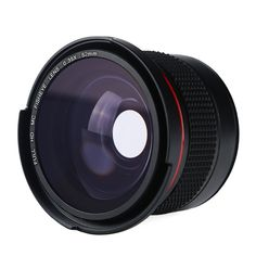 0 35x 52mm Fisheye Lens Wide Macro Fisheye Lens Super HD Panoramic Macro Fish Eye Lens. Click visit to buy #lenses #accessories