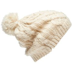 Forever New Selma Pompom Beanie ($18) ❤ liked on Polyvore