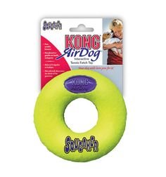 Kong Air Dog Squeaker Donut Dog Toy - Medium buy online dog toy http://www.dogspot.in/dog-toy/