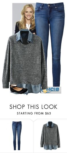 """""""Fandom Outfit: Ellie Bishop ; NCIS"""" by specific-nonsense ❤ liked on Polyvore featuring Paige Denim, fandom, TV and NCIS"""