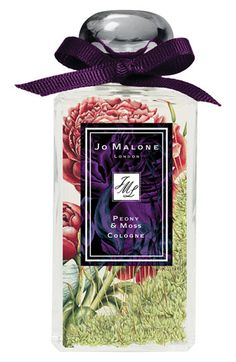 JO MALONE    Peony & Moss Cologne    Contrasting the dainty and the dirty. The gossamer lightness of delicate peonies grounded in earthy green.