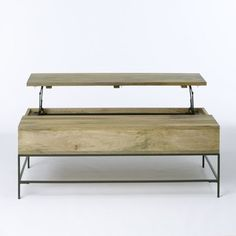 Rustic Storage Coffee Table - contemporary - coffee tables - West Elm