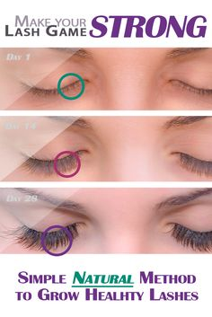 Naturally boost your lash growth!