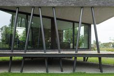 Kuvahaun tulos haulle sloped entrance stilt house