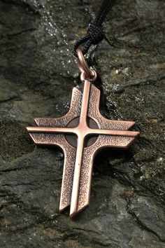 Copper Cross Pendant – Celebrate Faith