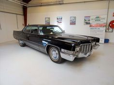 1969 Cadillac DeVille Hardtop Sedan One of the very best Cadillac we have ever seen and driven. This is the desirable hardtop sedan with the correct factory liter engine making 375 brake horsepower. Us Cars, Cadillac, Cars For Sale, Classic Cars, Engineering, Doors, Cars For Sell, Vintage Classic Cars, Technology
