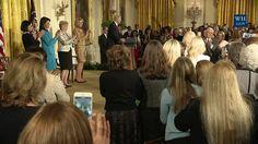 President Trump and Vice President Pence Speak at the Women's Empowermen...