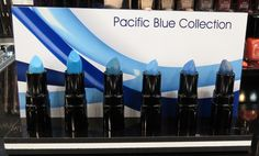 INGLOT Pacific Blue Lipstick Collection. Click to see swatches! #beauty #lipstick #makeup