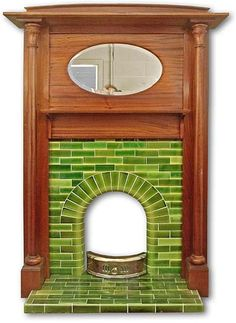 Latest Photo Fireplace Inserts remodel Concepts Looking to put a comfy touching to your dwelling? Contemplate purchasing a fireplace which will warmth you act. 1930s Fireplace, Edwardian Fireplace, Art Deco Fireplace, Fireplace Mantle, Fireplace Surrounds, Fireplace Ideas, Tiled Fireplace, 1930s Decor
