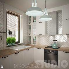 Projekt kuchni - zdjęcie od MIKOŁAJSKAstudio - Kuchnia - Styl Skandynawski - MIKOŁAJSKAstudio