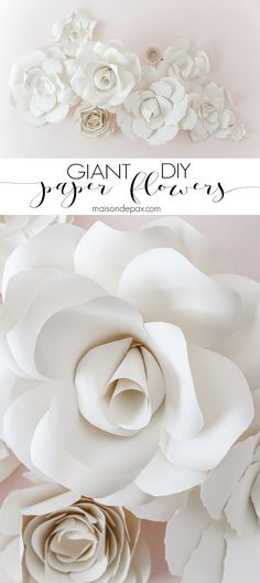 Delightful DIY Giant Paper Flowers Tutorial