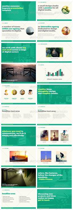 Wasabi - Keynote Presentation Template - GraphicRiver Item for Sale