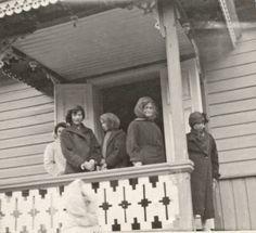 Tatiana, Olga, Maria and Anastasia, Crimea, May 26, 1914