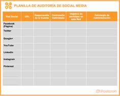 Planilla-de-Auditoría-de-Social-Media-para-Descargar