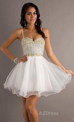 8th grade dance dresses white dress