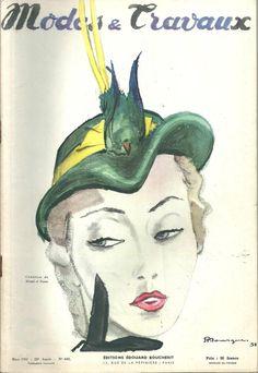 RARE!MODES et TRAVAUX n° 603/Mars 1951