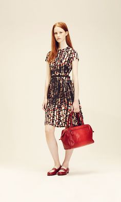 Love the combination of colors! Bottega Veneta Resort 2014