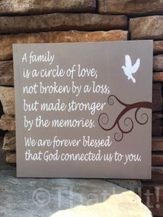 loss of a child, loss of a loved one, hand painted, wood sign, memorial sign…