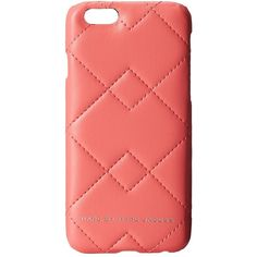 Marc by Marc Jacobs Crosby Quilted Phone Case for iPhone® 6 (150 BRL) ❤ liked on Polyvore featuring accessories, tech accessories, phone case, cases, phone, spring peach multi and marc by marc jacobs