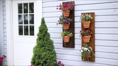 Copper Wire Wall Planter 🌿🌸🔨// Garden Answer - YouTube