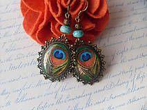 Náušnice - Pávie očká - 4926118_ Drop Earrings, Jewelry, Fashion, Moda, Jewlery, Bijoux, La Mode, Jewerly, Fasion