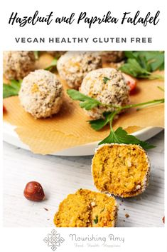 Flavour packed smoked paprika falafel with crunchy hazelnut crumb - deliciously vegan and gluten free, they only require 10 ingredients.