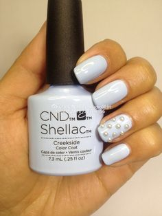 Look at this gorgeous color - stunning mani