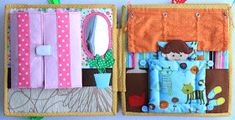 Handmade by mom Dolls House Figures, Sewing Crafts, Diy Crafts, Homemade Toys, Busy Book, Business For Kids, Book Activities, Activity Books, Kids Toys