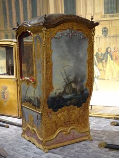 1000 images about sedan chairs on pinterest sedans for Chaise a porteur
