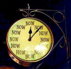 clock now