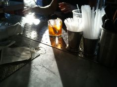 Ransom Gin Old Fashioned at The Cedars Social in Dallas, TX