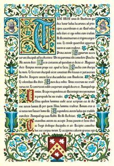 Illuminated Manuscript Font