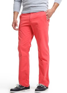 Bonobos Redrums Straight Leg Pants on Gilt Swag Style, My Style, Coral Pants, Colored Pants, Mens Fashion, Fashion Outfits, Beard Styles, Straight Leg Pants, Spring Summer Fashion