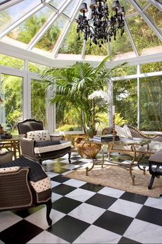 Lighting, blinds and fans are great #accessories to include in your #conservatory