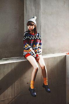 Aztec pattern #teen #fashion