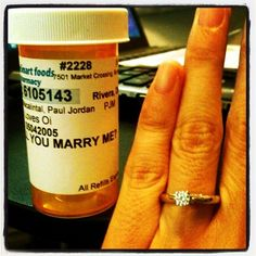 20. Use the perks of your job to your advantage.    Cute way to ask someone to marry you :)