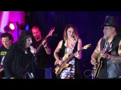 Willie K BBQ Bluesfest with Alice Cooper and Samantha Fish - YouTube