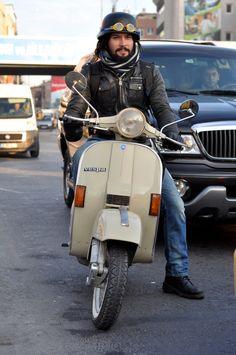 P-series Vespa in Istanbul.