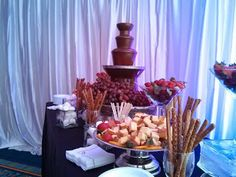 A Chocolate Fountain sounds like a good idea to us!
