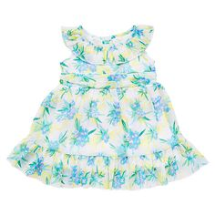 "Koala Baby Girls' 2 Piece Floral Print Sleeveless Sundress and Diaper Cover Set - Babies R Us - Babies ""R"" Us $12"