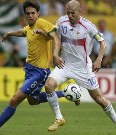 É possível que Zidane reencontro o Brasil em uma Copa do Mundo