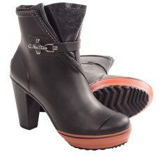 Sorel Medina Rain Heel Boots - Waterproof (For Women) in Black