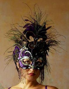 headdresses, masks