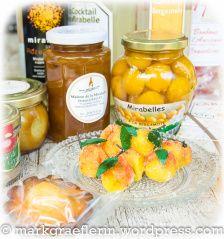 Marmelade, Mirabellen in Bergamotte Sirup..