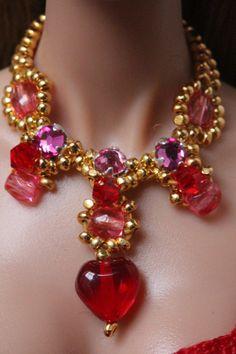 Doll jewelry set for Fashion Royalty Poppy by IsabelleParisJewels